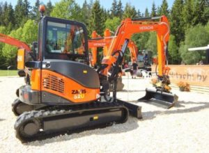 HITACHI ZX52u hire
