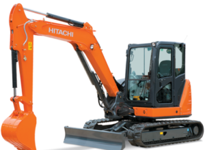 HITACHI ZX65 for hire