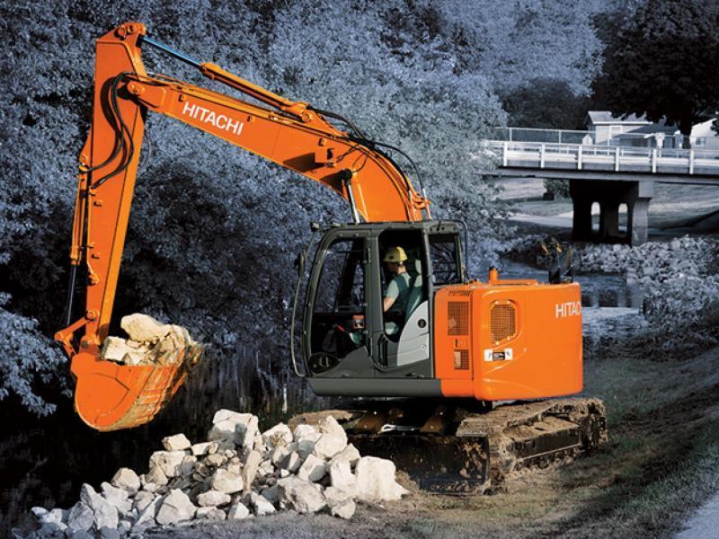 Hitachi zx135us 5