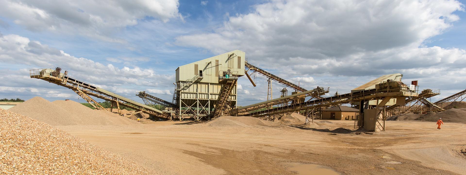 Hanson quarry